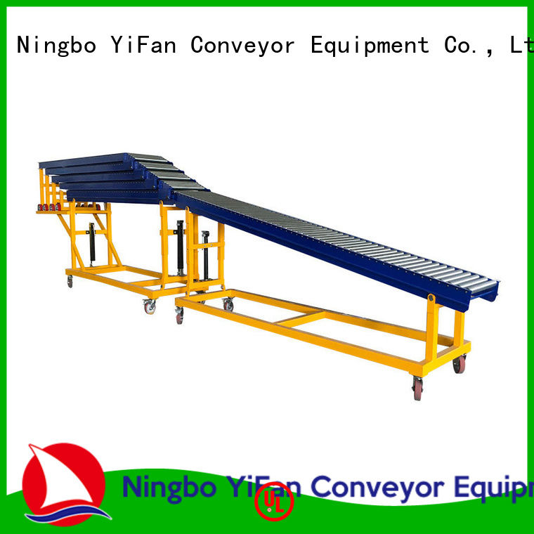 YiFan reliable quality conveyor systems request for quote for warehouse